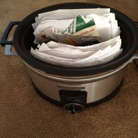 recipes inside a crockpot