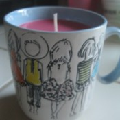 closeup of candle