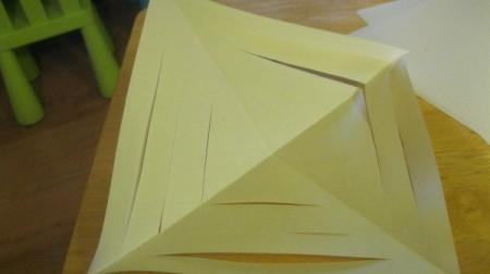 3D Paper Snowflakes
