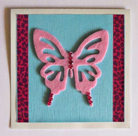 Shades of Pink Birthday Card