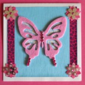 Shades of Pink Birthday Card