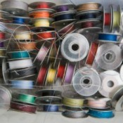 jumble of bobbins