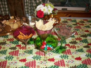 New Year's or Party Centerpiece