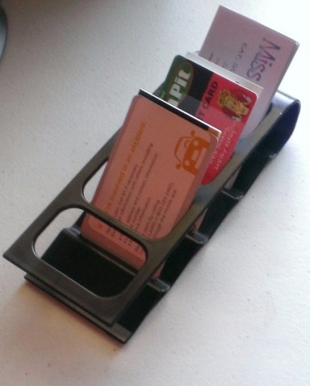 Reuse Remote Stand for Business Cards