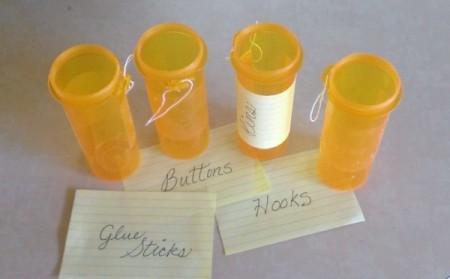 Large Medicine Bottle for Craft Supplies
