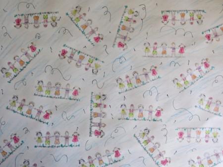 Colorful Children's Birthday Gift Wrap