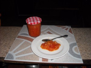 Fresh Papaya Chutney