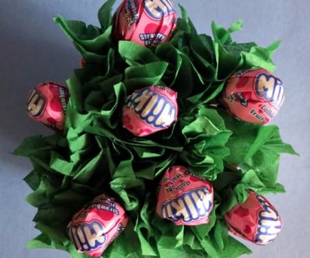 Sweet Lollipop Valentine's Day Arrangement