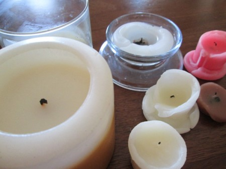 Reusing Candle Wax