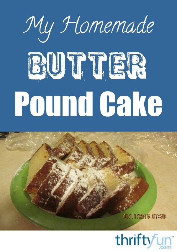 French Butter Cake Recipe