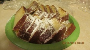 My Homemade Butter Pound Cake