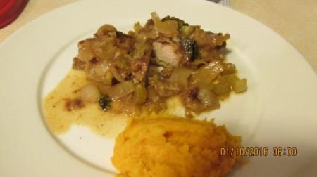 Braised Oven Baked Pork Chops