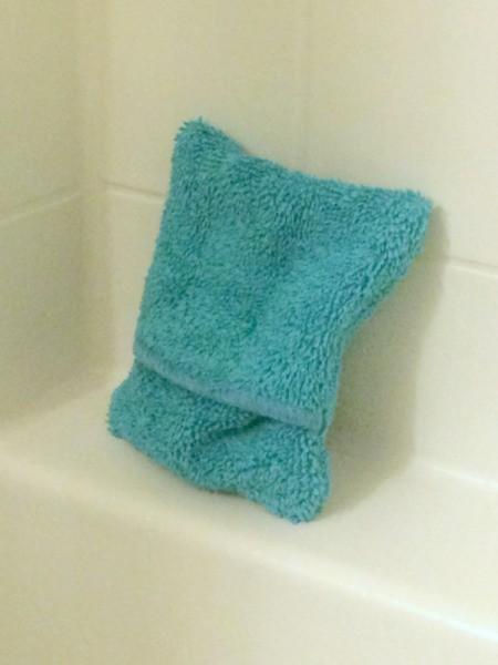 Washcloth Soap Pouch
