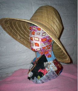 finished Boho Hat Form
