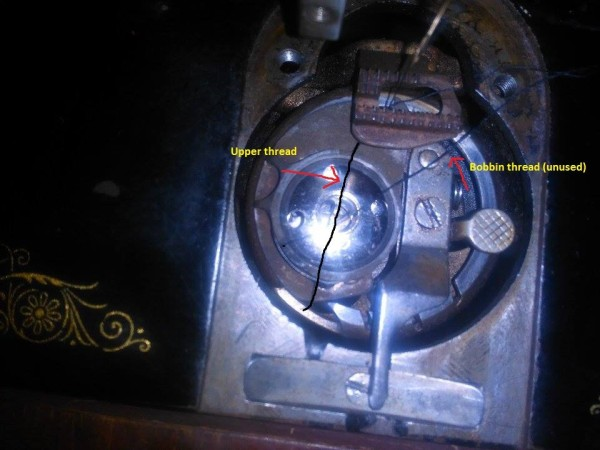 Singer Sewing Machine Not Picking Up Bobbin Thread ThriftyFun Classy How To Thread Bobbin On Singer Sewing Machine