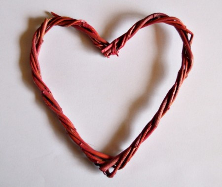 Cupid's Love Gift Bag - twig heart