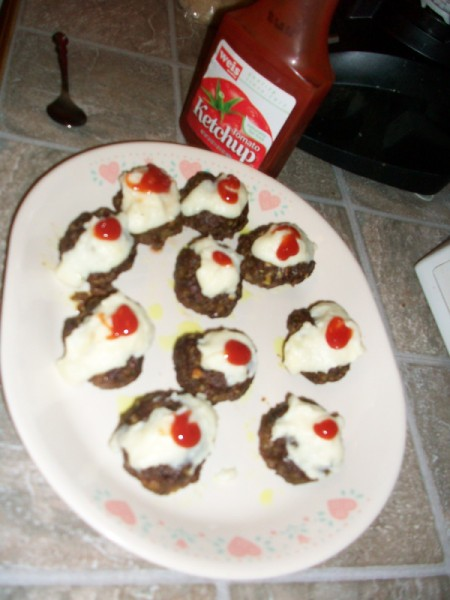 "Meatloaf ""Cupcakes"""
