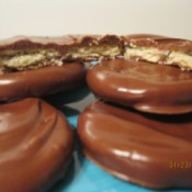 No Bake Chocolate Mint Cookies
