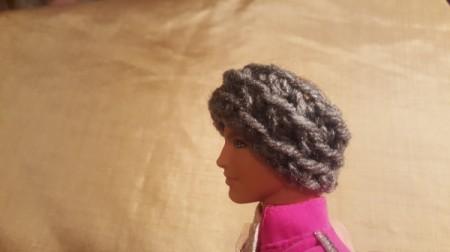 Crochet Cowl for Ken Doll