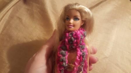 Crochet Scarves for Barbie Doll