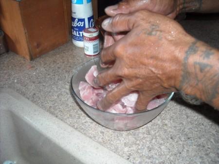 Raw Fish with Coconut Milk