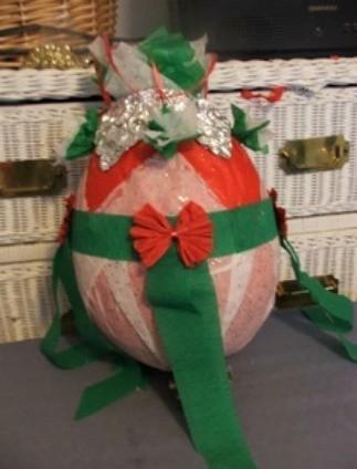 Colorful Christmas Pinatas