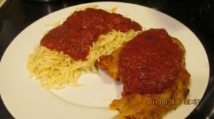 Homemade Chicken Parmesan