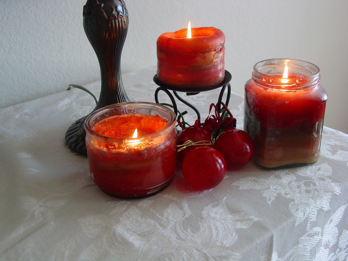 Making Candles With Used Scentsy Wax