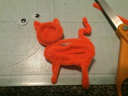 Pipe Cleaner Cat