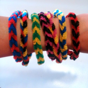 Pipe Cleaner Bracelets