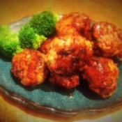 Glazed Chicken Teriyaki Meatballs