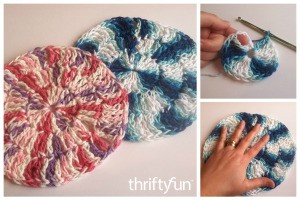 Making a Round Crocheted Dishcloth
