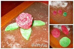 Making Gum Drop Roses