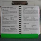 Homemade Recipe Book Holder