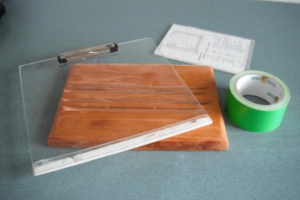 How To Make A Book Holder : Diy cookbook holder thriftyfun