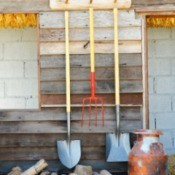 hanging garden tools
