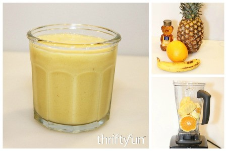 Pineapple Orange Banana Smoothie Recipes
