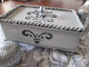 Recycled Jewelry Keepsake Box