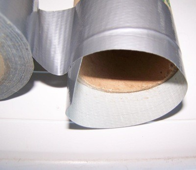 Three Easy Crafts For Boys - binoculars from paper tubes in process