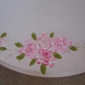 Printing Roses Using Celery Stalks
