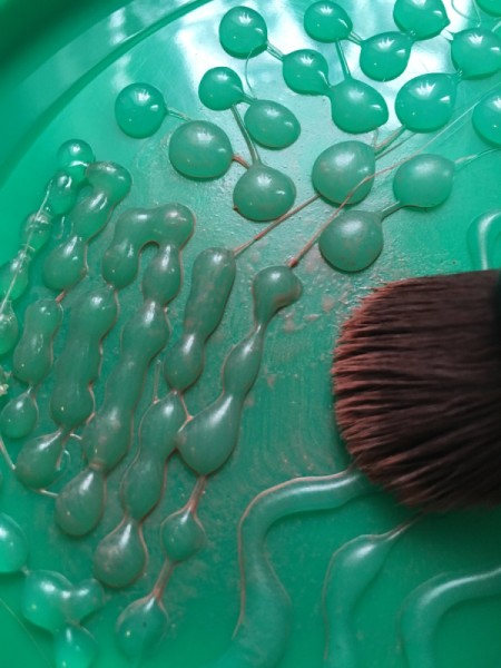 DIY Brush Cleansing Palette