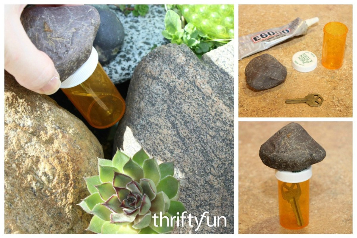 Pill Bottle Hide-a-Key | Uses for Empty Pill Bottles Around the House | DIY Projects