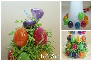 Plastic Easter Egg Tree
