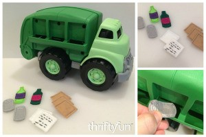 Making Felt Recyclables for a Toy Truck
