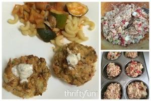 Muffin Tin Salmon Cakes