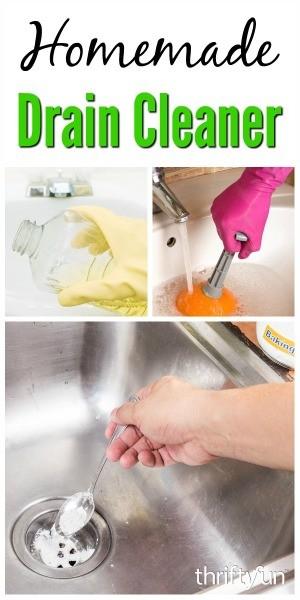 Homemade Drain Cleaners Thriftyfun
