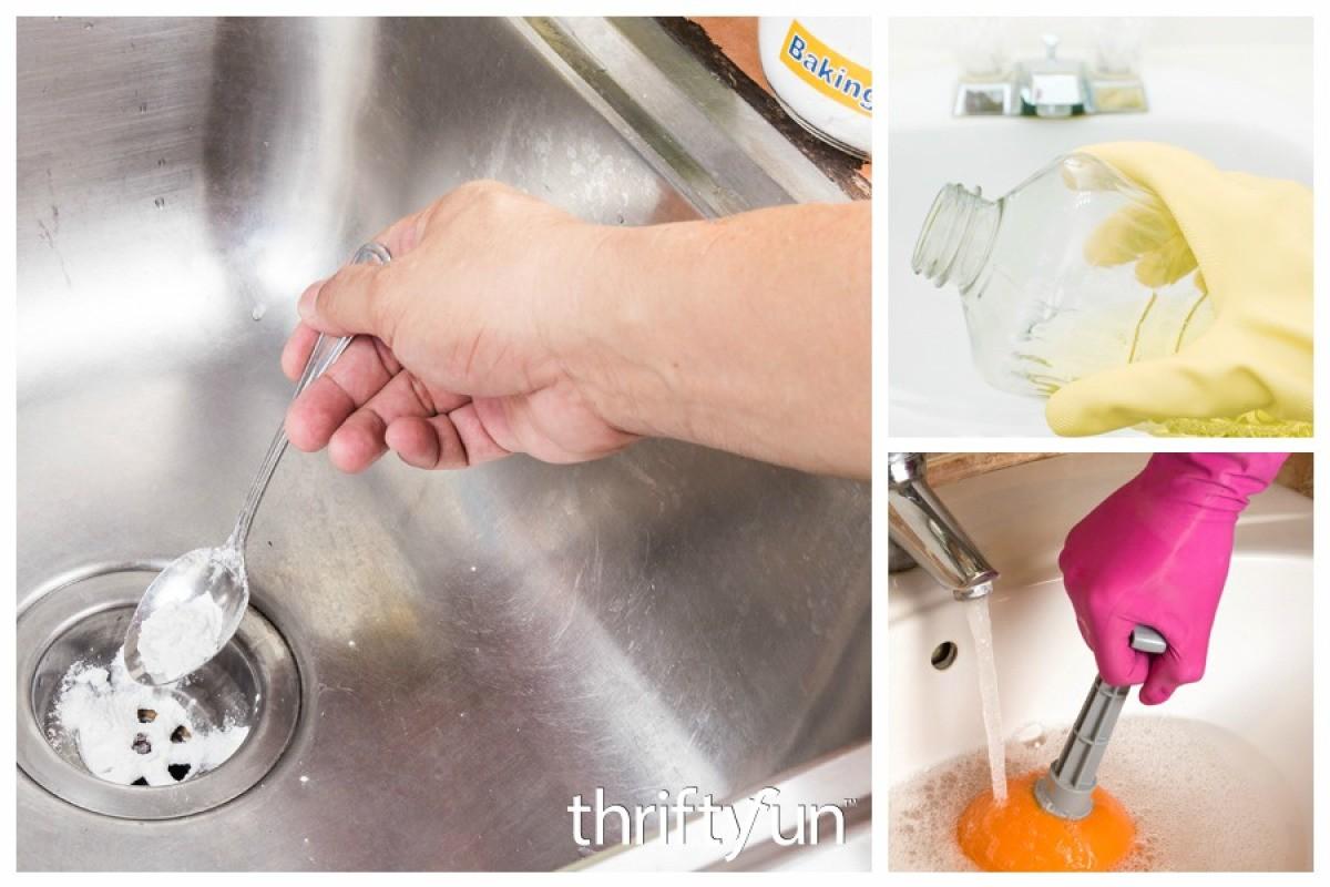 Homemade Drain Cleaners | ThriftyFun