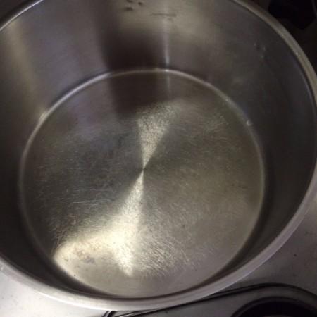 inside of pot