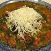 Frugal Hearty Meatloaf Soup