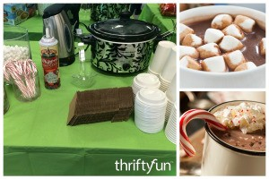Have a Hot Chocolate Bar at Your Party